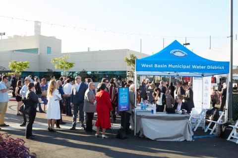 October 3, 2019: West Basin Edward C. Little Water Recycling Facility Grand Re-Opening Ceremony